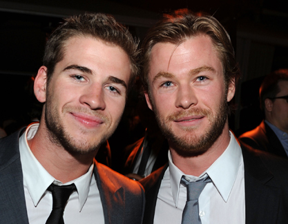 Chris & Liam Hemsworth images Liam Hemsworth and Chris Hemsworth wallpaper and background photos