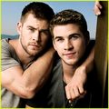 Liam Hemsworth and Chris Hemsworth