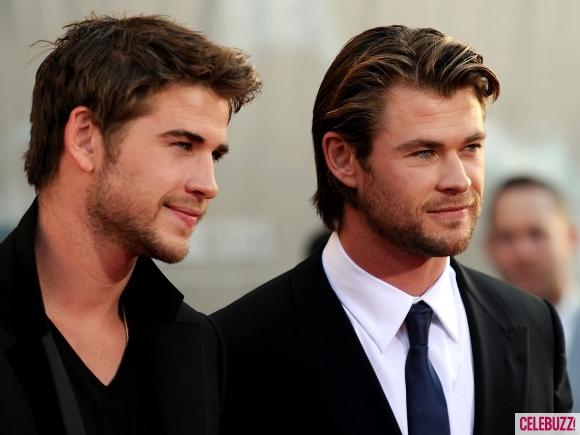 Liam Hemsworth and Chris Hemsworth - Chris & Liam ...