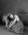 Lillian Gish - Promo shot for The Wind - silent-movies photo