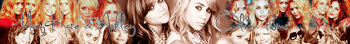 Mary-Kate & Ashley Olsen banner