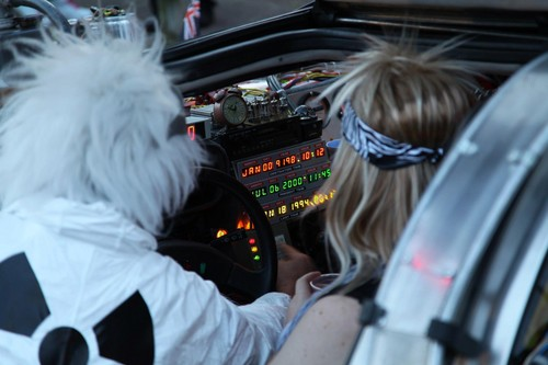 Meeting Doc Brown / My 80's themed 30th