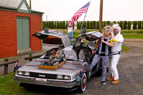 Meeting Doc Brown!!