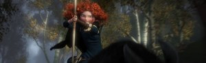 Merida Hunting from Horse