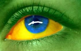 Meus olhos e o Brasil não tem muita diferença