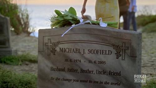 Michael's Tombstone