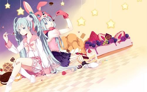 Miku Hatsune Hintergrund