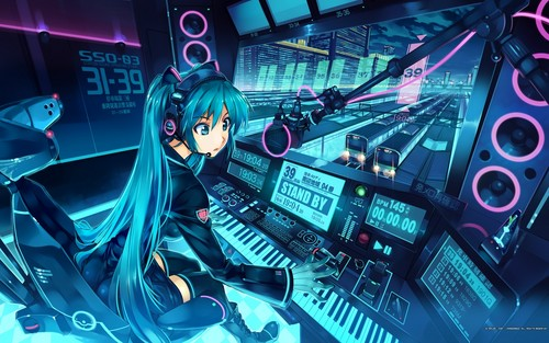 hatsune miku wallpaper called Miku Hatsune wallpaper