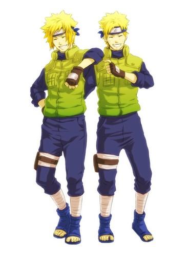 Minato and 나루토