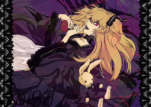 Misa Amane wallpaper with Anime called Misamisa Amane.
