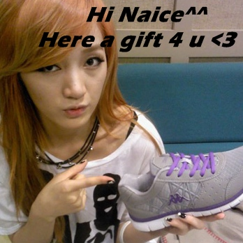 Miss A messages to naice1000~ দ্বারা Kips