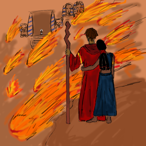 Moses And Tzipporah