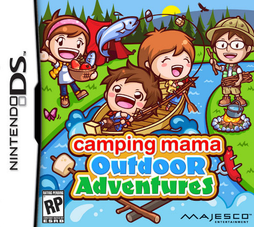 NEW MAMA GAME!!! Camping Mama: Outdoor Adventures!!