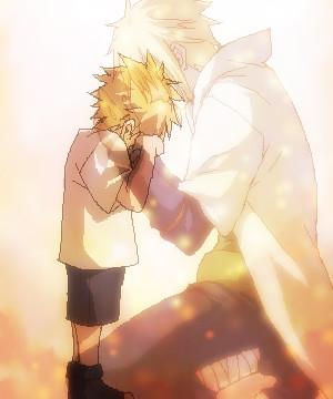 Naruto-kun and his father