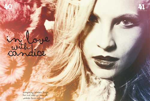 """New Scans; Candice in """"Disfunkshion"""" magazine - Lady Is A Vamp!"""