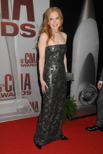 Nicole Kidman at the 45th Annual CMA Awards