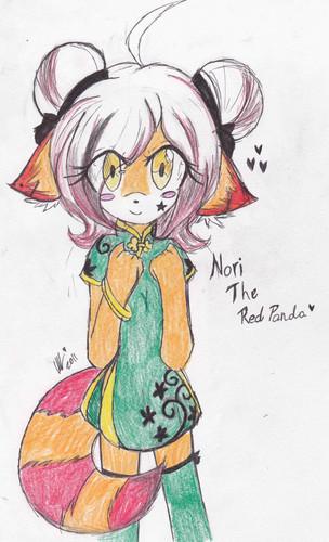 Nori the red panda~