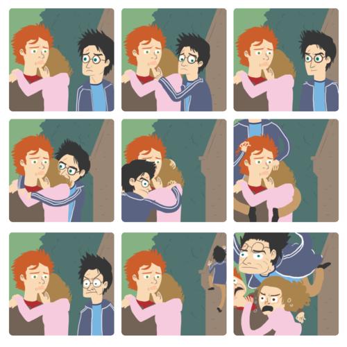 Harry Potter hình nền titled OMG