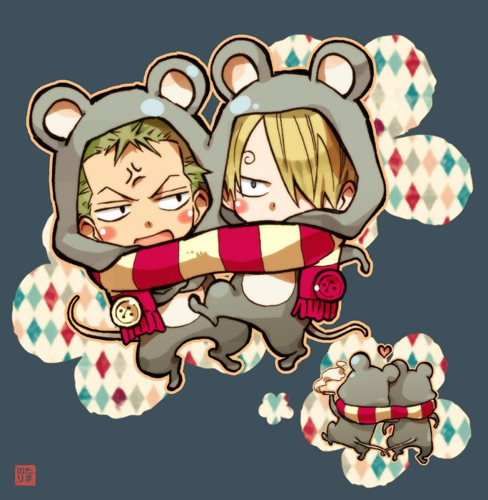 One Piece image... One Piece Chibi Luffy And Ace