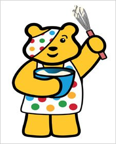 Pudsey loves cooking