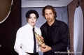 Rare Award Picture - michael-jackson photo