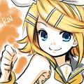 Rin Kagamine - anime fan art