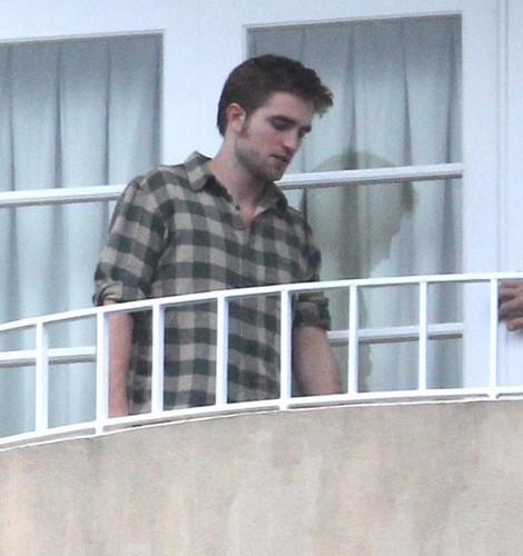 Robert in hotel