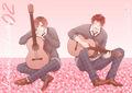 Romano y Spain con guitarras!
