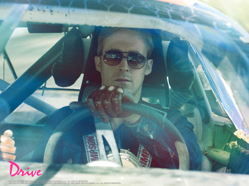 Ryan Gosling wallpaper with sunglasses called Ryan Gosling Drive Wallpaper