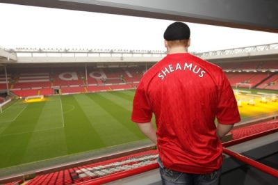 SHEAMUS VISIT ANFIELD