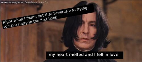 Severus Snape Confessions