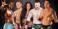 Sheamus,Wade Barrett,AJ Lee,Daniel Bryan,Kofi Kingston