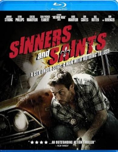 Sinners & Saints Blu-Ray Cover