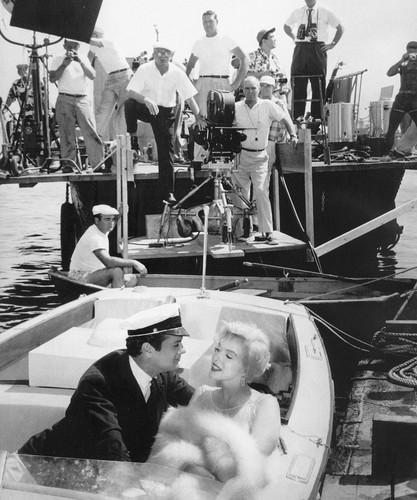 Some Like It Hot - On Set