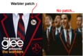 Something I noticed about the Warbler cover