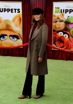Stana at the premiere of 'The Muppets'
