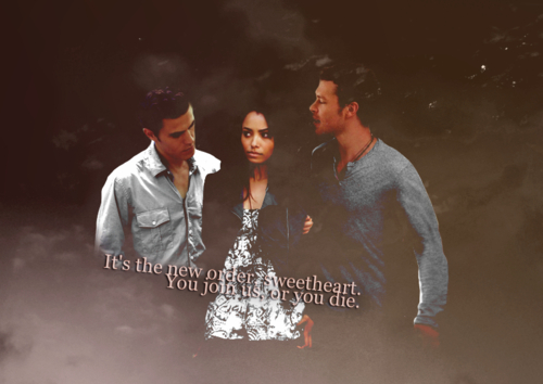 Stefan, Bonnie and Klaus