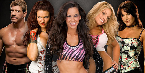 Survivor Series Dream Team-AJ Lee,Molly Holly,Trish Stratus,Lita,Eddie Guerrero