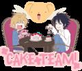 THE CAKE TEAM IS NOT A LIE. - anime fan art