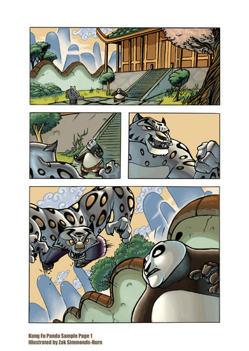 Tai Lung comic