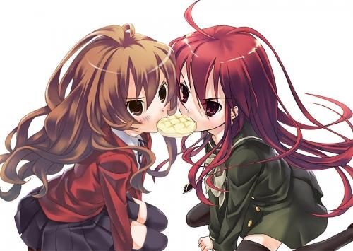 Taiga and Shana XD