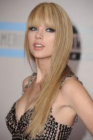 Taylor with straight hair!