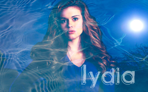 Teen loup fond d'écran containing a portrait entitled Teen Wolf- Lydia