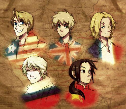 The Allies! X3