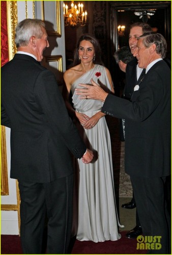 The Duke And Duchess Of Cambridge Attend A Dinner For The National Memorial Arboretum Appeal