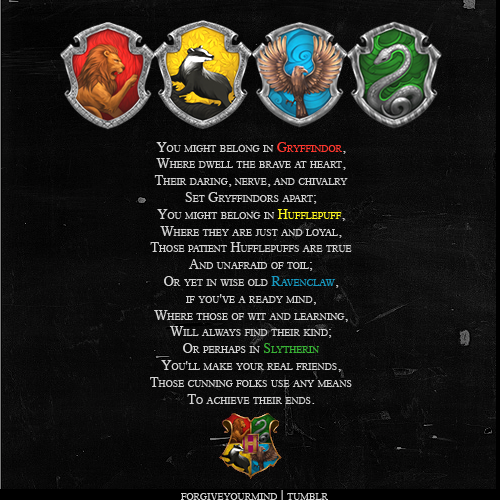 Hogwarts houses images the sorting hat wallpaper and for First house music song