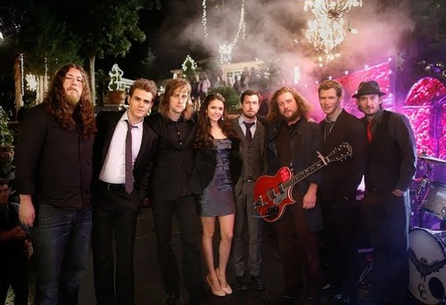 The Vampire Diaries – Episode 3.09 – Homecoming – BTS Foto