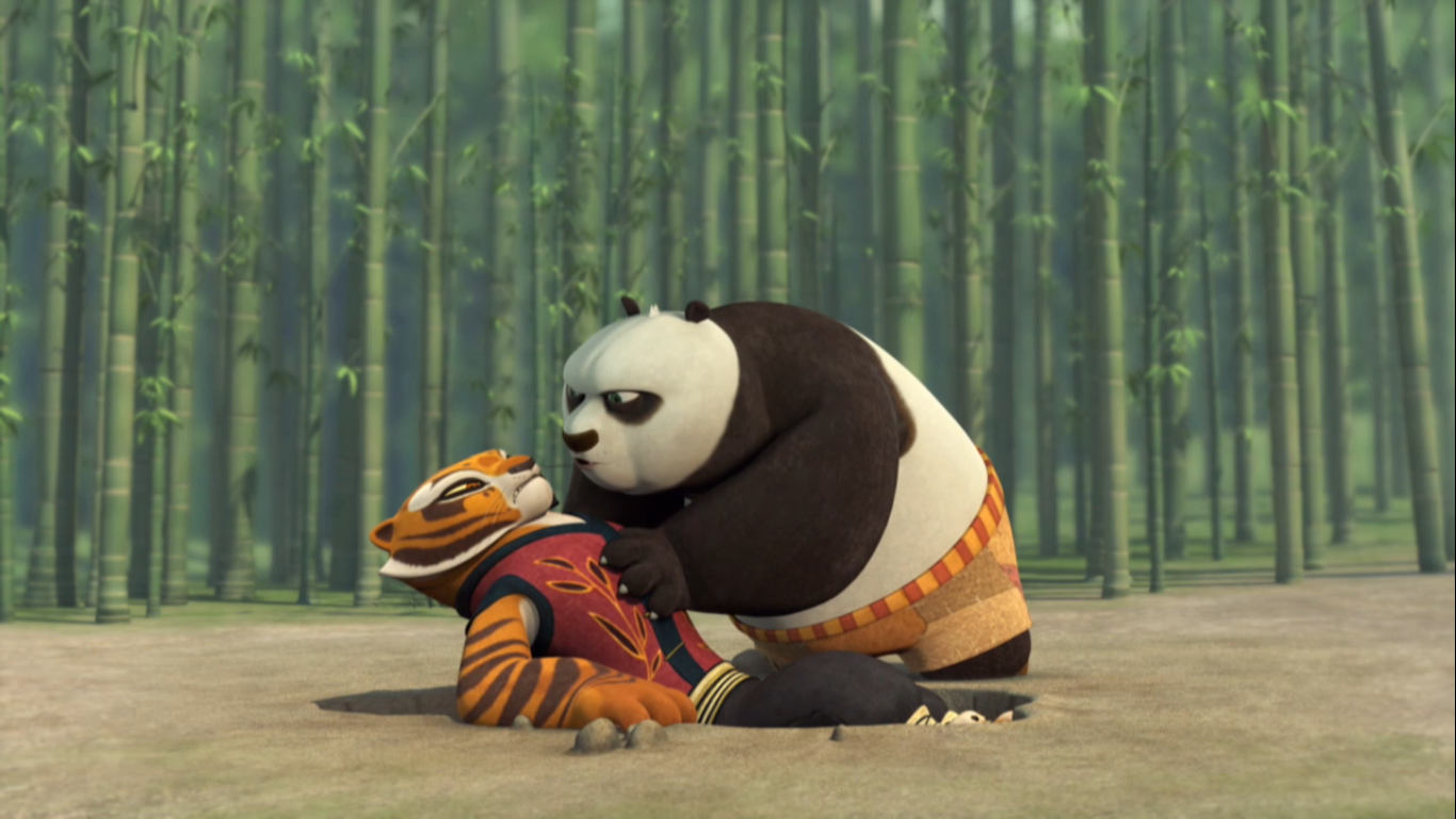 Tigress Moments - kung fu panda legends of awesomeness ...