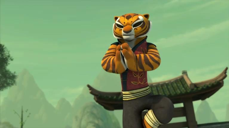 Kung Fu Panda Legends Of Awesomeness Tigress