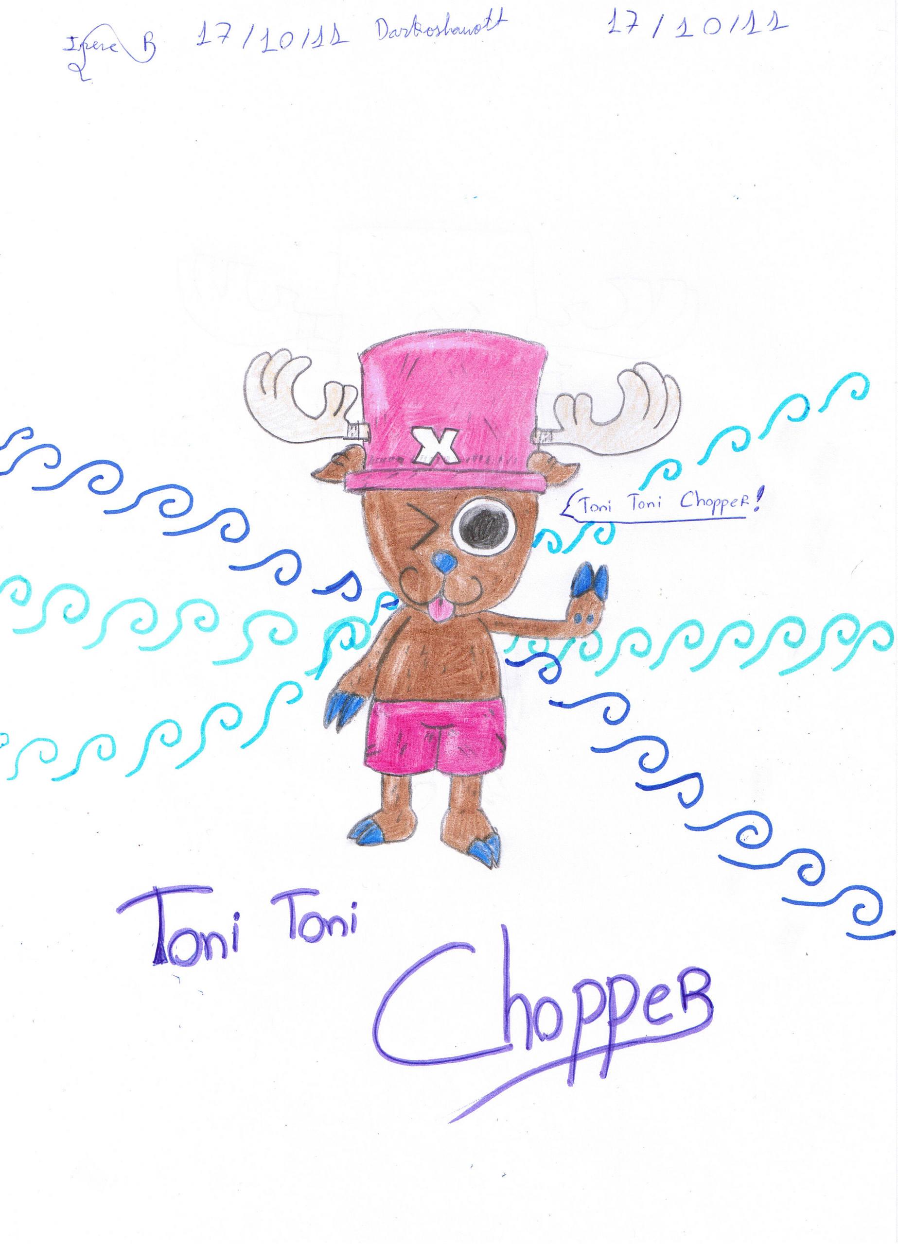 Tony Tony Chopper Drawing